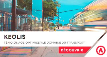 Keolis Alteryx Optimiser le domaine du transport / logistique