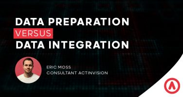Data integration vs data preparation