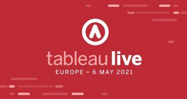 Tableau Live Europe 2021