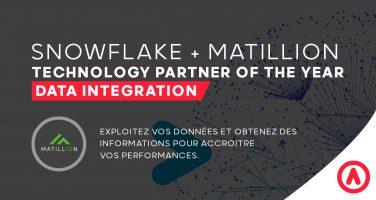 matillion snowflake data integration