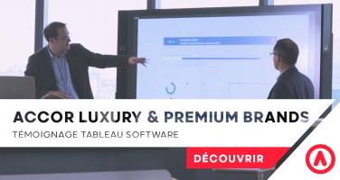Accor luxury & premium brands tableau software