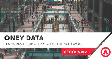 oney data snowflake tableau software data cloud