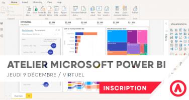 Atelier Microsoft Power Bi Dahsboard
