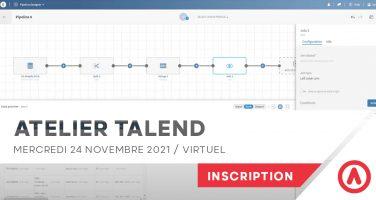 Atelier Talend Open Studio